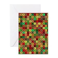 Jingle Jumble Greeting Card