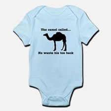 The Camel Called Wants Toe Back Body Suit