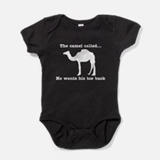 The Camel Called Wants Toe Back Baby Bodysuit