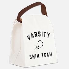 Varsity Swim Team Canvas Lunch Bag