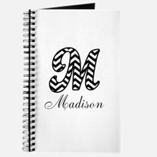 Monogram M Your Name Custom Journal