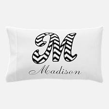 Monogram M Your Name Custom Pillow Case