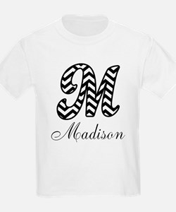 Monogram M Your Name Custom T-Shirt