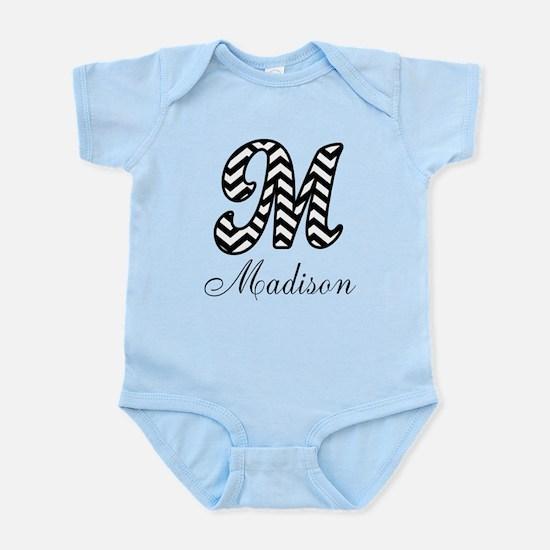Monogram M Your Name Custom Body Suit