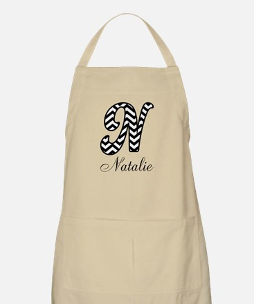 Monogram N Your Name Custom Apron