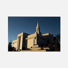 LDS, Bountiful Utah Temple: Rectangle Magnet