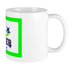Green Allstar Cheerleader Mug