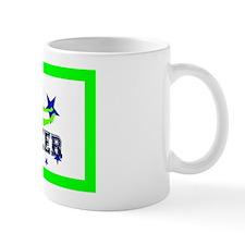 Green Allstar Cheerleader Small Mugs