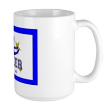 Blue Allstar Cheerleader Mug
