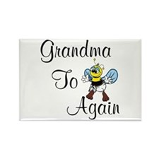 Cute Soon grandma Rectangle Magnet