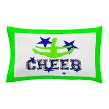 Green Allstar Cheerleader Pillow Case