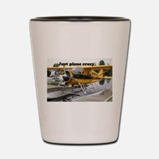 Just plane crazy: Beaver float plane,La Shot Glass