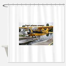Just plane crazy: Beaver float plan Shower Curtain
