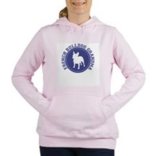 frenchbull-grandma.png Women's Hooded Sweatshirt