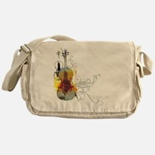 violins-art.jpg Messenger Bag