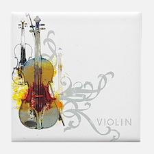 violins-art.jpg Tile Coaster