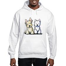 KiniArt Terriers Hoodie