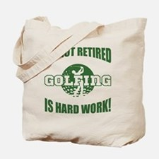 Retired Golf Lover Tote Bag