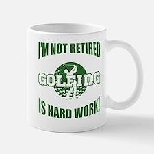 Retired Golf Lover Mug