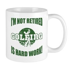 Retired Golf Lover Small Mug