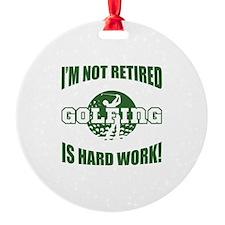 Retired Golf Lover Ornament