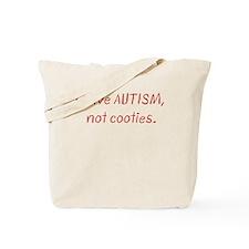 autism-cooties.png Tote Bag