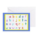 Small Letters Note Cards (Pk of 10)