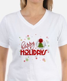 Red Snowflakes T-Shirt