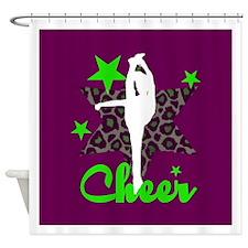 Cheerleaer Shower Curtain