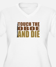 touch-oboe Plus Size T-Shirt