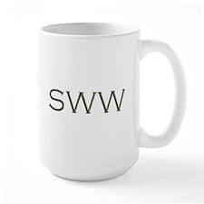 SWW silver Mug