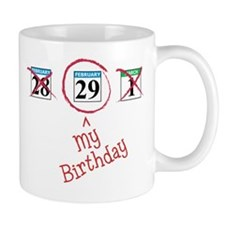 Unique Lefty leap year baby Mug