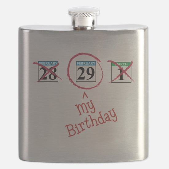 Cute Leap year Flask
