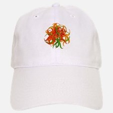 Abstract Lily Baseball Baseball Cap