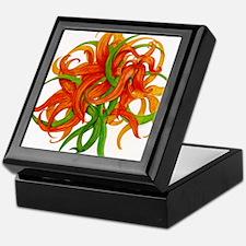 Abstract Lily Keepsake Box