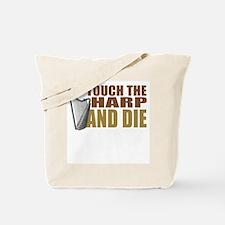 harp-touchdie.png Tote Bag
