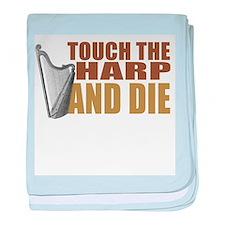 harp-touchdie.png baby blanket