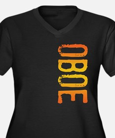 stamp-oboeB Plus Size T-Shirt