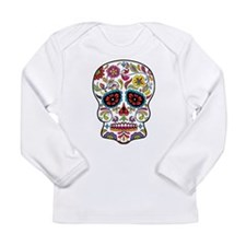 Sugar Skull 7 Long Sleeve T-Shirt