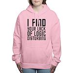 Lack of Logic Women's Hooded Sweatshirt