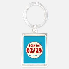 Born on 02/29 Keychains