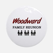 Woodward Family Reunion Ornament (Round)