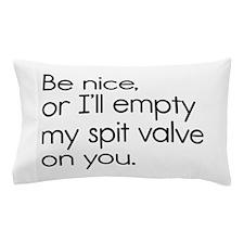Spit Valve Pillow Case