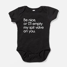 Spit Valve Baby Bodysuit