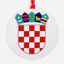 Croatia Hrvatska Emblem Ornament