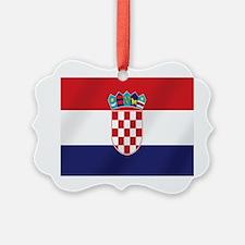 Croatian National Flag Ornament