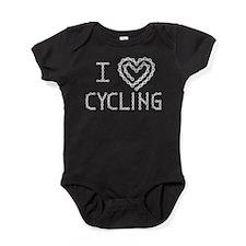 LOVE CYCLING Baby Bodysuit