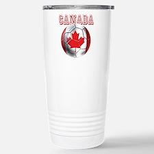 Canada Soccer Travel Mug