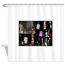 NYC at Night Shower Curtain