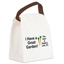 Great Garden Canvas Lunch Bag
